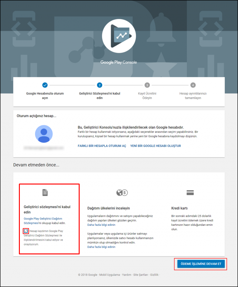 Google play console Add and assign Managed